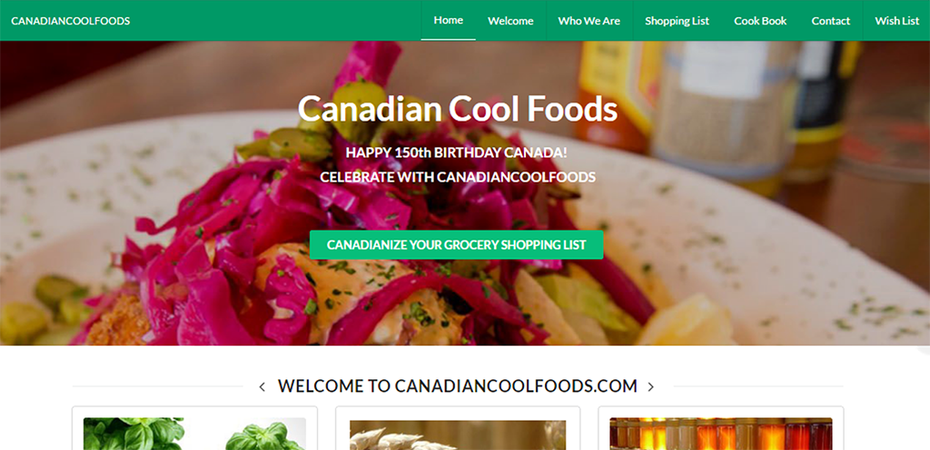 CANADIAN COOL FOODS